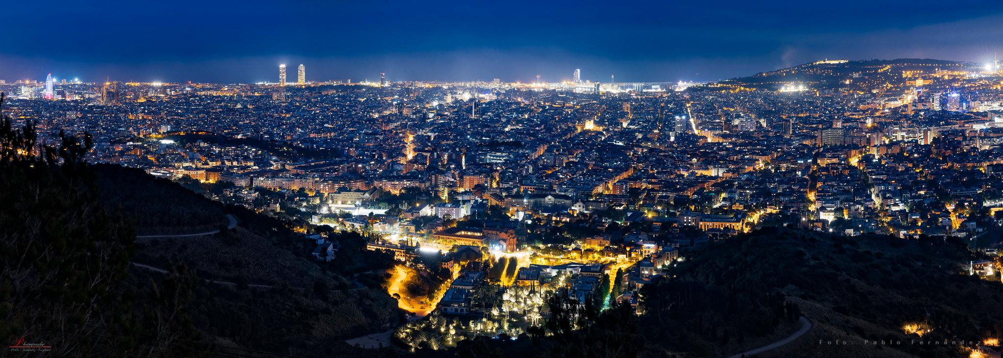 Barcelona Skyline. Foto: Pablo Fernández