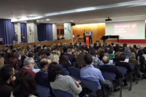 Ciutadella Campus Auditorium, Pompeu Fabra University. Photo: UPF, (CC BY-NC-ND 2.0)