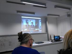Workshop 8 Skype  with Students